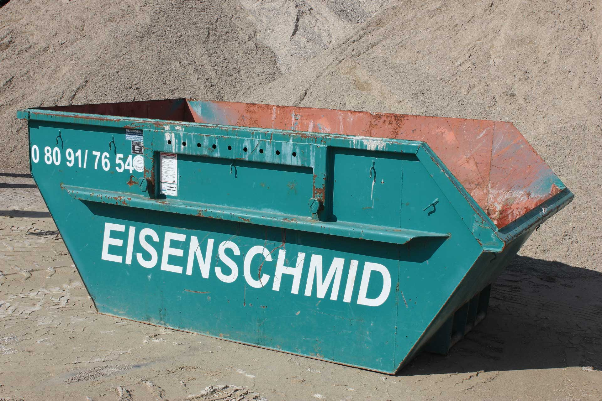 5 m³ Absetz Container